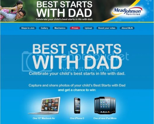 "Mead Johnson Nutrition ""Best Starts with Dad"" campaign"