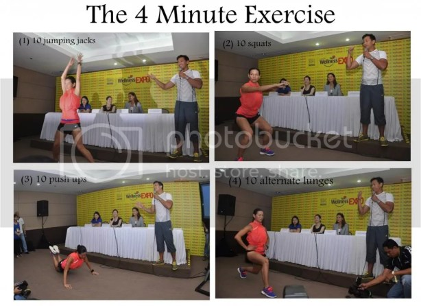 Coach Jim Saret 4 minute exercise