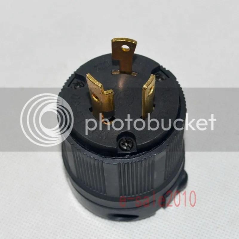Nema L5 30 30a 125v 3 Wire Twist Lock Electrical L5 30p