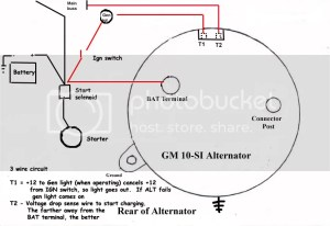 GM 10Si alternator wiring issues | The HAMB