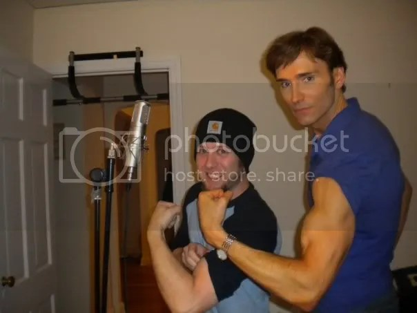 Steve Goldstein (aka hizEd) and John Basedow