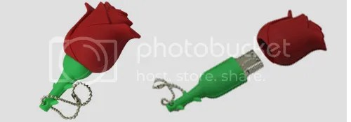 Red Rose USB Drive