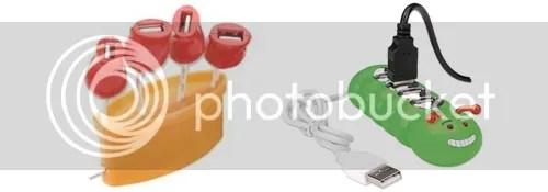 Flower Pot / Caterpillar shaped USB 4 Port Hub | 10 SPRING-ish Gadgets by Bloggeretterized