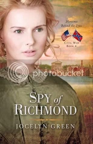 Spy of Richmond by Jocelyn Green book cover