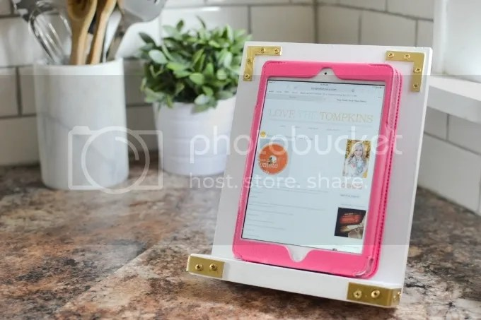 Campaign Furniture Inspired iPad Rest