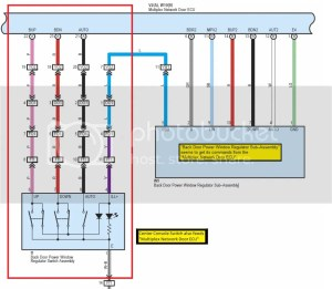 Tailgate Window  Console Switch not working, Rear Key