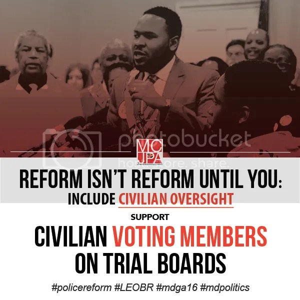 MCJPA call for civilian voting members on police trial boards