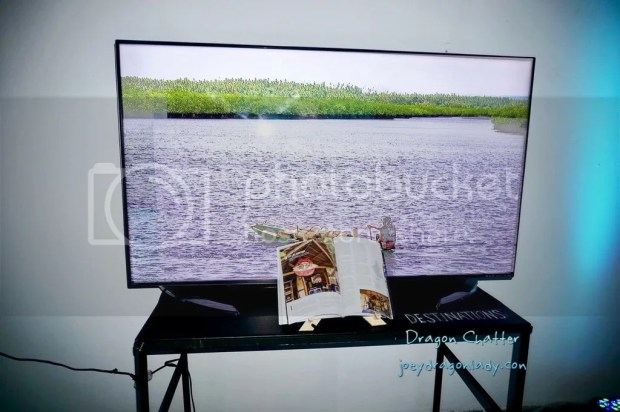 Video display of the Explore Philippines Magazine