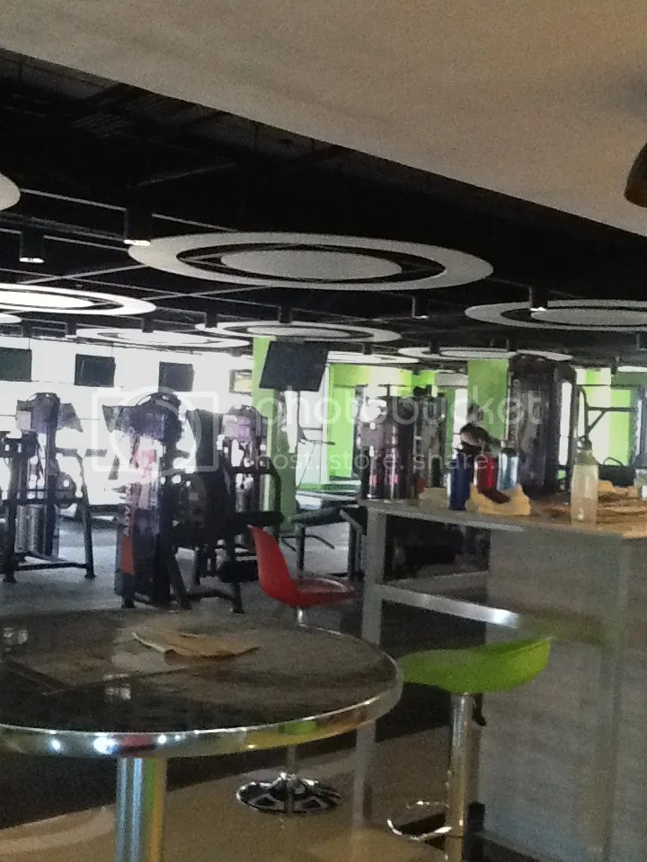 Part of the Eclipse gym in Bacolod