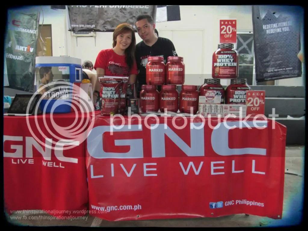 Jez Bautistia GNC Philippines