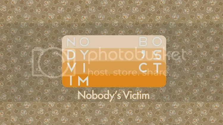 Nobody's Victim - The Turkish Tea Room Gallery