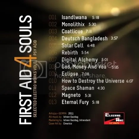 First Aid 4 Souls - Selected Electro Works Vol 1 Psy Acid