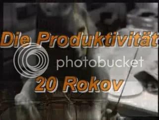 Die Produktivität - 20 Rokov