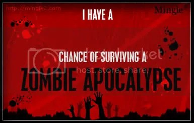 29% Chance of Surviving Zombie Attack