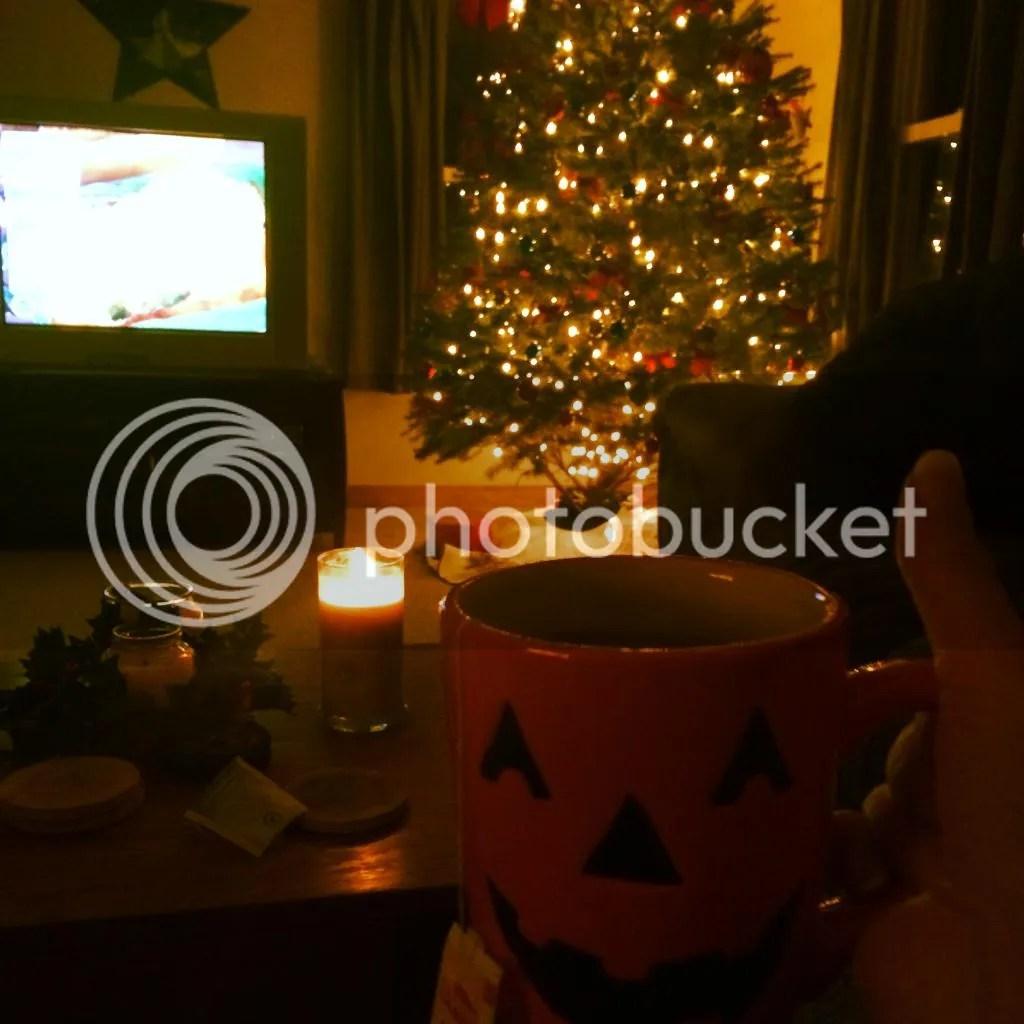 christmas lights, tree, christmas lights, halloween on christmas
