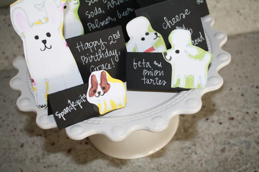 frenchie food cards