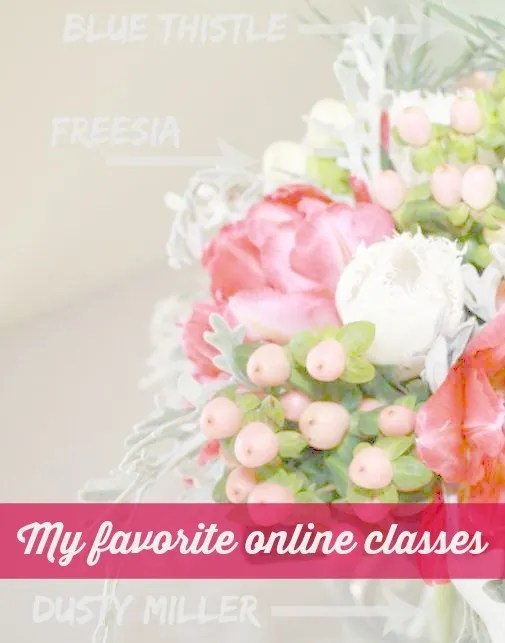 My favorite online classes for art, photography and creativity