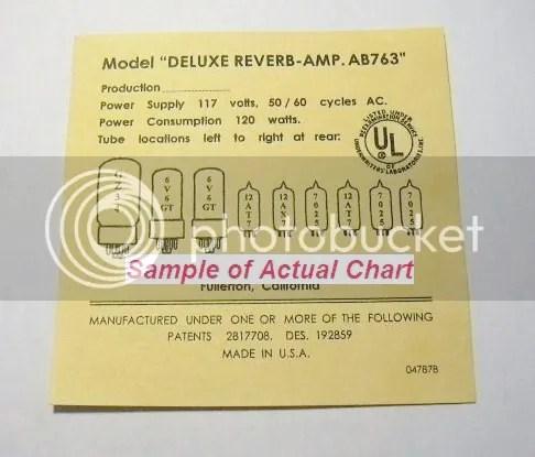 Deluxe Reverb Amp Model Ab763