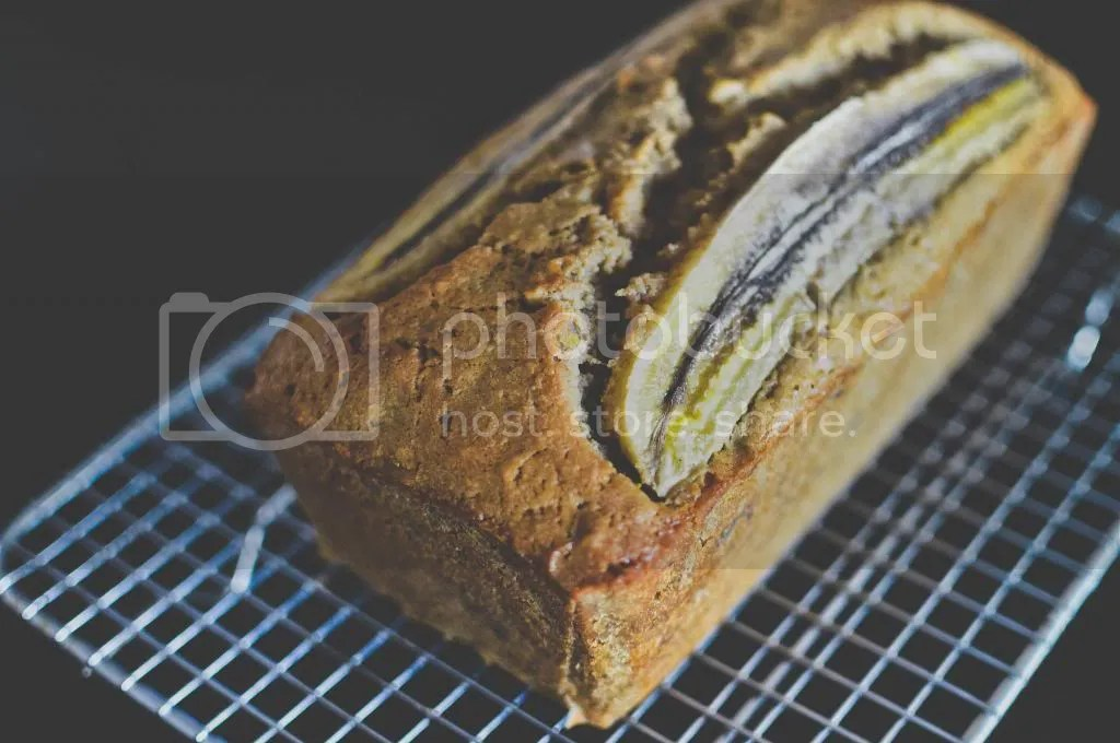 Banana, Orange and Walnut Bread