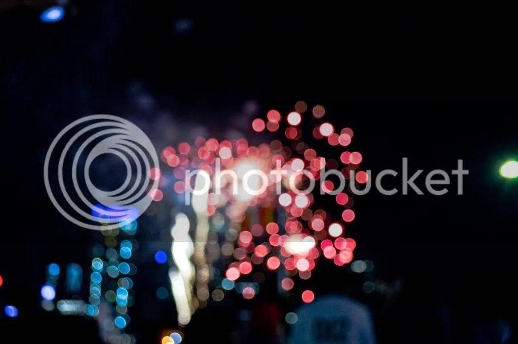 Fireworks Bokeh