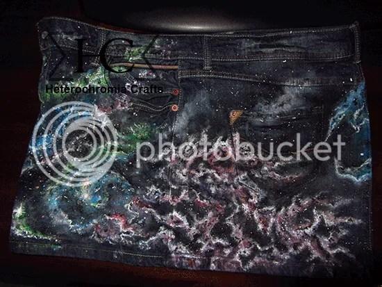 Falda Espacial: Lateral Izquierdo