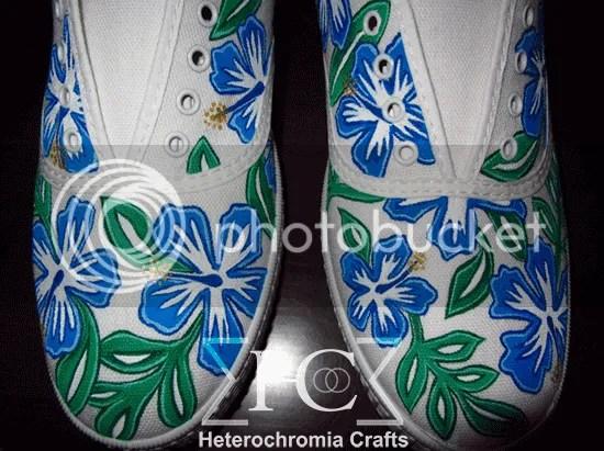 zapatillas shoes hawaii diy flowers summer