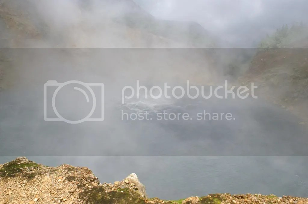 The Boiling Lake – 2nd biggest boiling lake in the world - photo by author