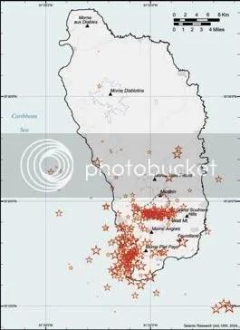 South seismicity 2002