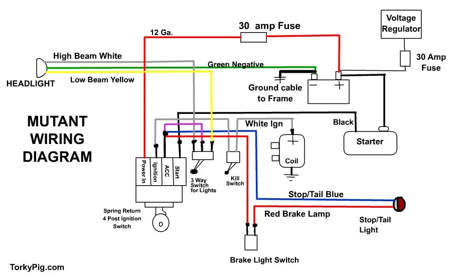 Harley Flh Headlight Relay Wiring Diagram on harley flh solenoid, harley flh ignition switch, harley flh wire harness, flhx wiring diagram, harley flh oil cooler, harley flh voltage regulator, harley flh frame, road king wiring diagram,