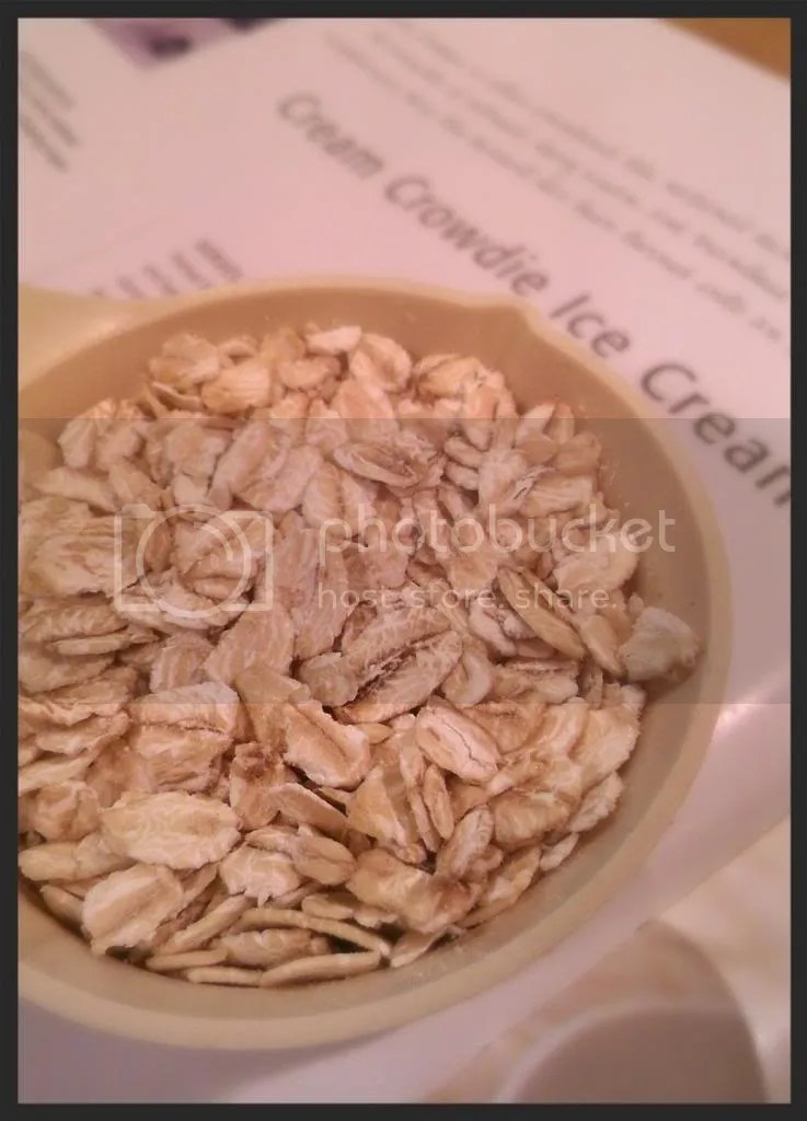 toasted oatmeal makes the house smell oh soo homey!