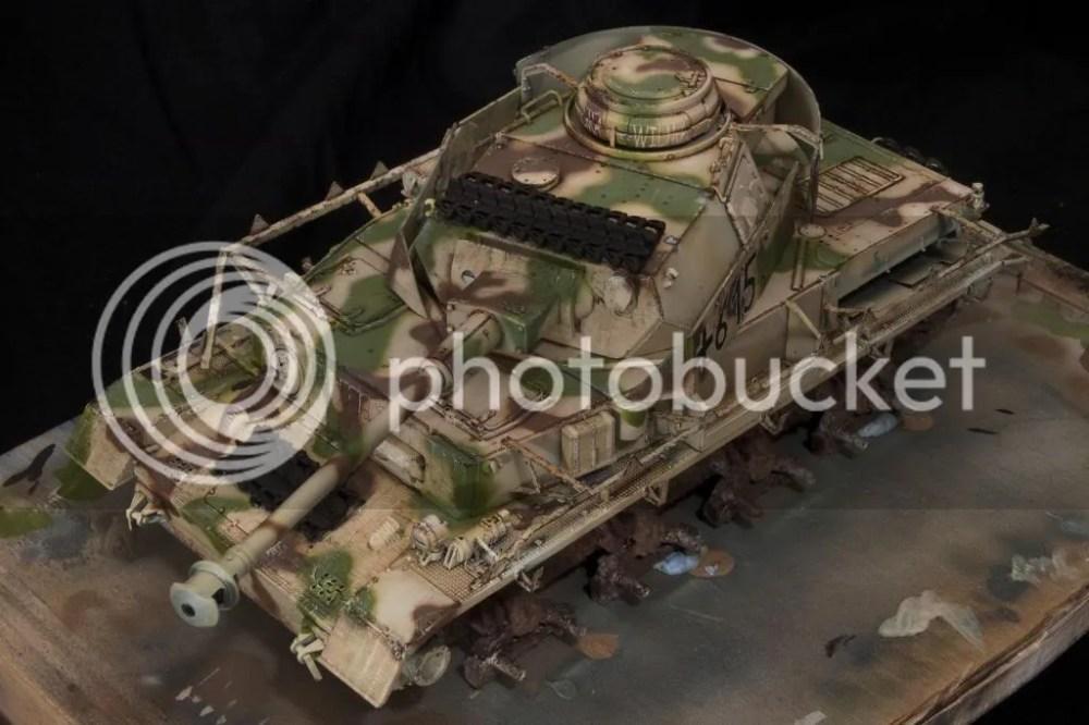 Pz.Kpfw.IV Ausf.H/zimmerit III. rész (3/4)