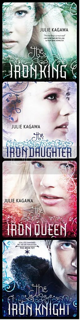 The Iron Fey Series by Julie Kagawa photo The Iron Fey series_zps9yewumws.jpg