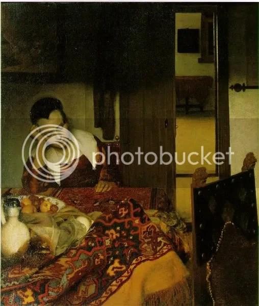1657 Sovande flicka Vermeer