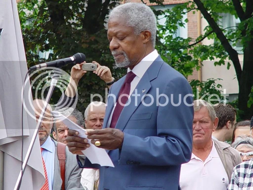 Kofi Annan Foto Nils Tengdahl