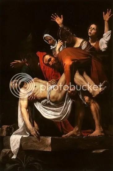 Caravaggio Pieta
