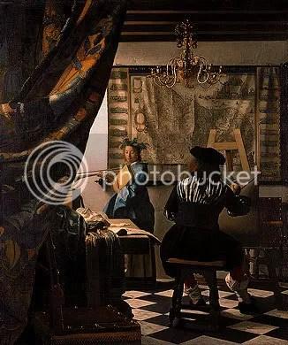 Vermeer målarkonsten