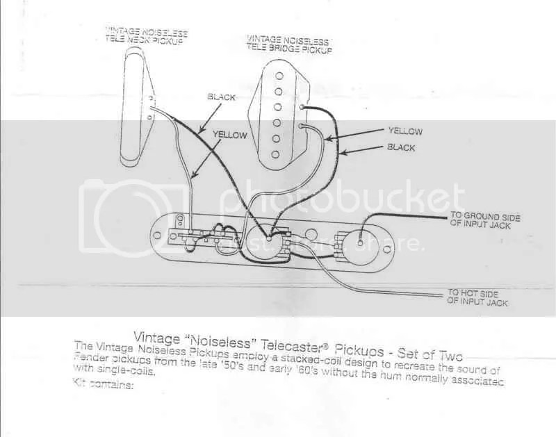 televintagenoiselesswiring?resized665%2C523 fender hot noiseless pickups wiring diagram efcaviation com telecaster pickup wiring diagram at edmiracle.co