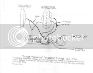 Vintage Noiseless Strat Wiring Diagram  Somurich