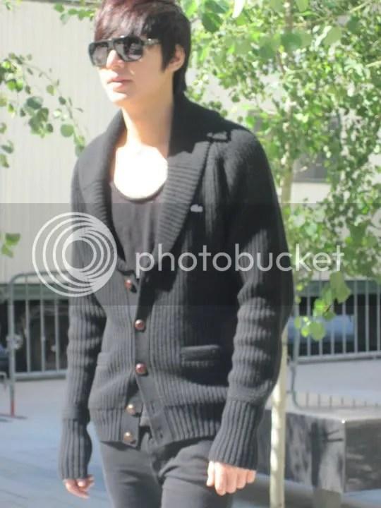 Lee Min Ho en NY