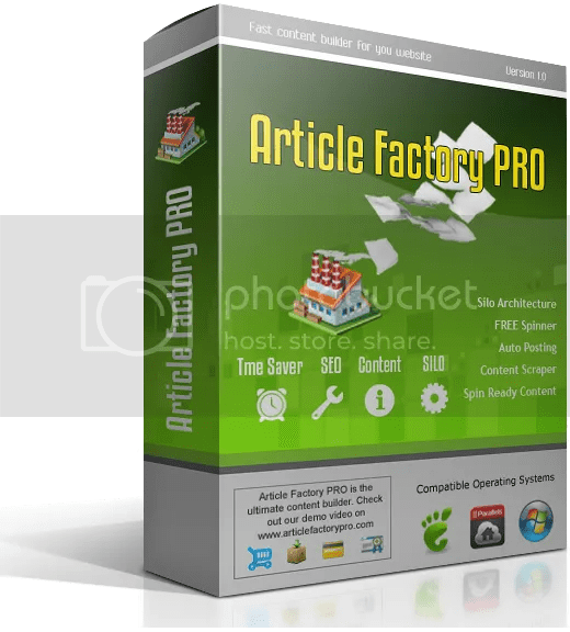 Article Factory Pro Review