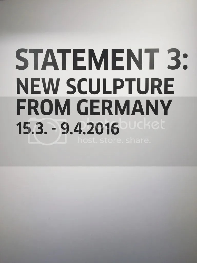 Statement 3 New Sculpture from Germany exhibition at Goethe-Institut Hong Kong
