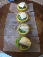 They cook inside a hollowed out lemon!