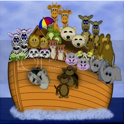 Noahs Ark Original graphics from Treasured Graphics