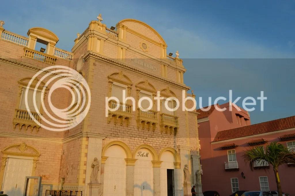 Heredia Theatre Cartagena, Colombia