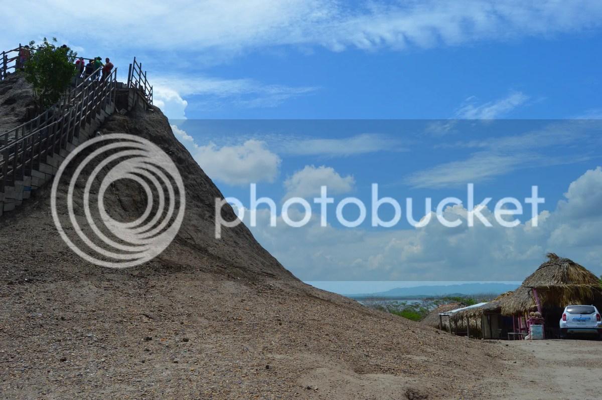 El Totumo, a mud volcano mud volcano about 40 minutes from Cartagena