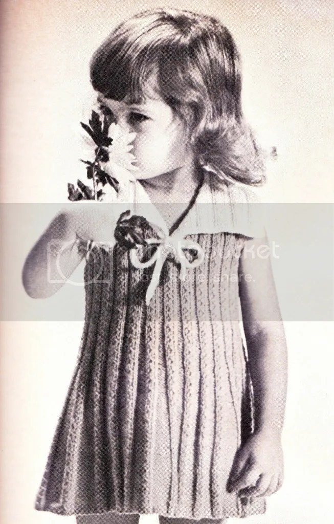 chloeheartsowls.com vintage knitting pattern 1960s sailor dress