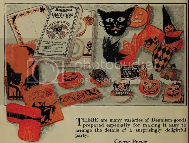 chloe hearts owls - vintage halloween - 1920s bogie book