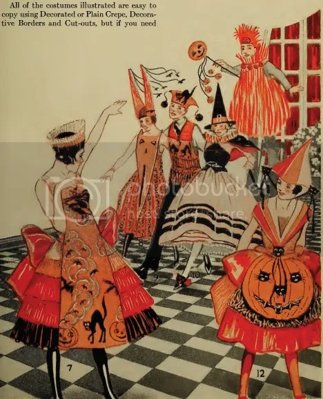chloe hearts owls - vintage halloween - 1920s costumes and decorations