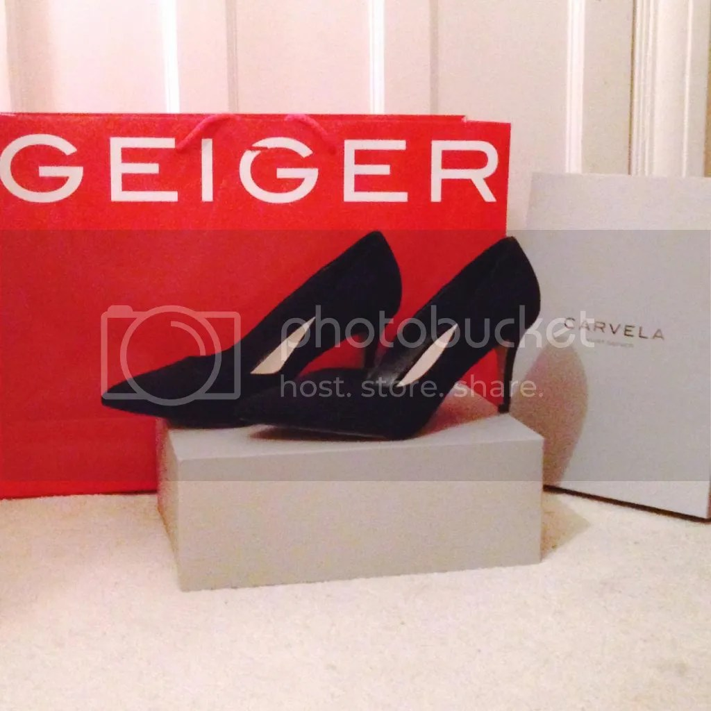 carvela black heels