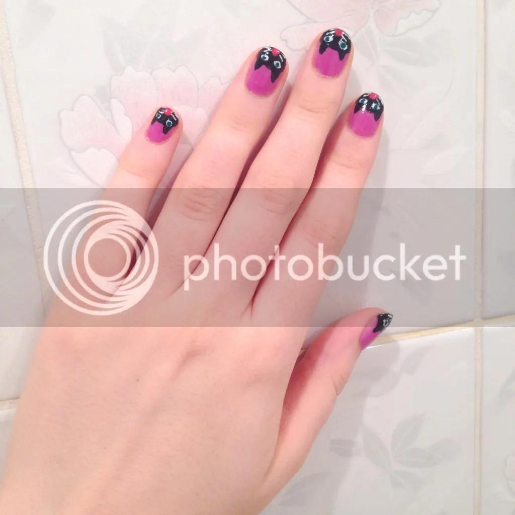 kitty cat nails